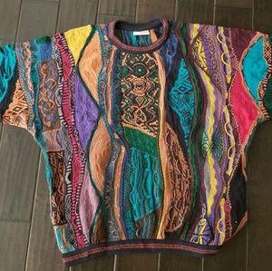 Vintage 90s COOGI Sweater 100% XL